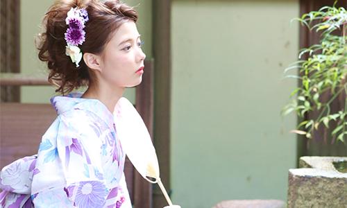 紫の浴衣は女を美しく魅せる!選び方のポイントとおすすめの浴衣